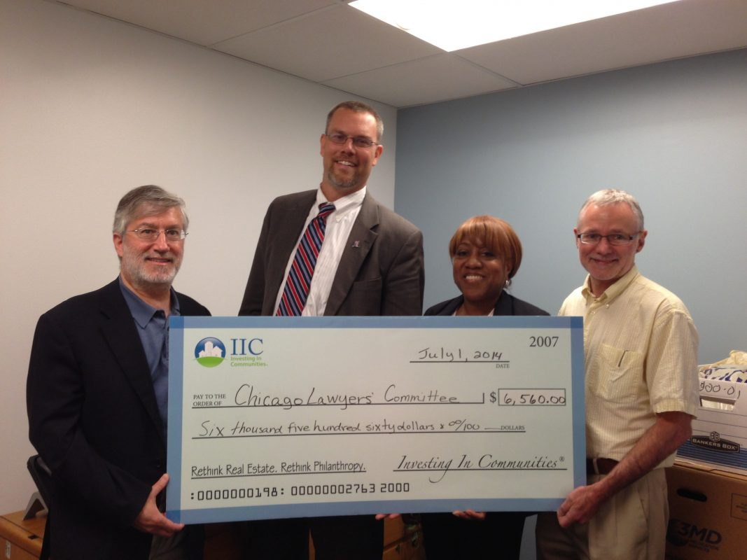 IIC Big Check to CLCCRUL